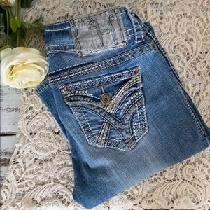 Hydraulic Lola Micro Boot Cut Jeans-Junior